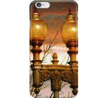 Evening Lamppost iPhone Case/Skin