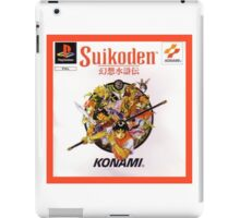 Suikoden European Cover Art iPad Case/Skin