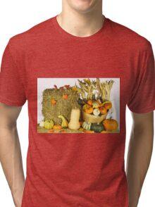 Happy Thanksgiving Day. Tri-blend T-Shirt