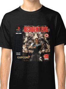 Resident Evil Original Destressed Classic T-Shirt
