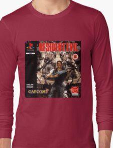 Resident Evil Original Destressed Long Sleeve T-Shirt