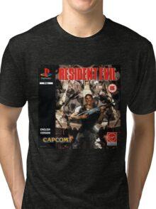 Resident Evil Original Destressed Tri-blend T-Shirt