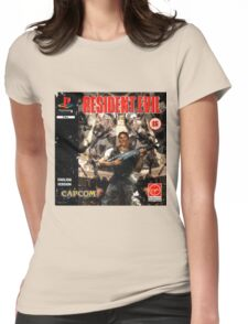 Resident Evil Original Destressed Womens Fitted T-Shirt