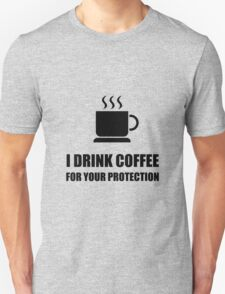Coffee Protection Unisex T-Shirt