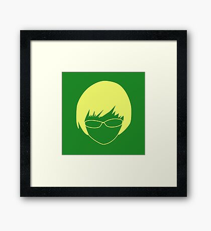 Chie Icon Framed Print