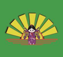 Chinese Fairy Doll in Sunshine T-shirt, etc. design Baby Tee