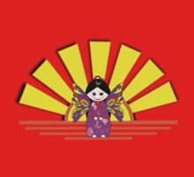 Chinese Fairy Doll in Sunshine T-shirt, etc. design One Piece - Short Sleeve