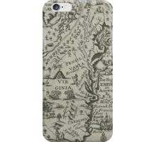 Map of the English Empire in America 1685 iPhone Case/Skin