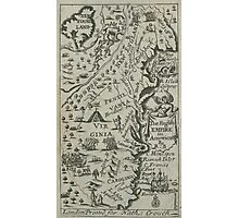 Map of the English Empire in America 1685 Photographic Print