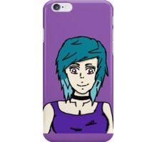 Punk Anime Girl  iPhone Case/Skin