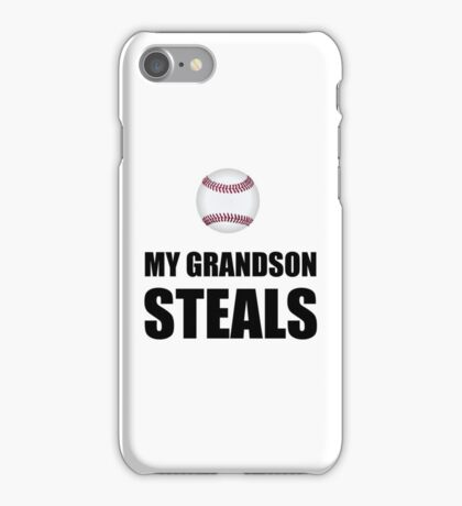 Grandson Steals Baseball iPhone Case/Skin
