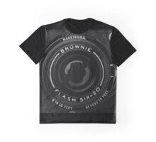Old Film Camera Kodak Brownie Six-20 Graphic T-Shirt