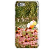 Balloons and Echinacea Celebrate iPhone Case/Skin