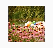 Balloons and Echinacea Celebrate Unisex T-Shirt