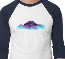 Techno Mountain Men's Baseball ¾ T-Shirt