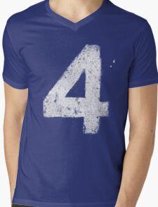 Up In Fl4mes Mens V-Neck T-Shirt