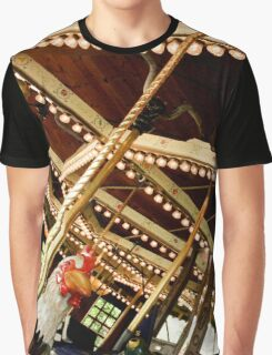 Merry Go Round Graphic T-Shirt
