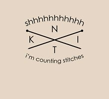 Knitting Counting Stitches Unisex T-Shirt