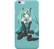Vocaloid sit down iPhone Case/Skin