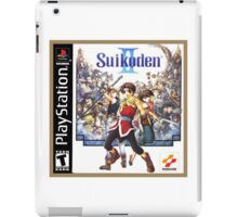 Suikoden 2 Cover Art iPad Case/Skin