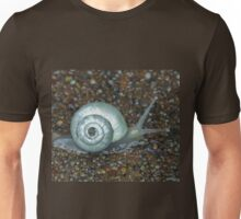 Morning Snail After the Rain Unisex T-Shirt