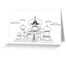 Mouse in Love in Persia Greeting Card