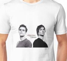 The vampire diaries Salvatore Brothers  Unisex T-Shirt