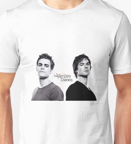The vampire diaries Salvatore Brothers  Unisex T-Shirt