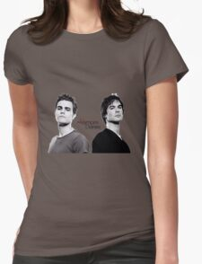 The vampire diaries Salvatore Brothers  Womens Fitted T-Shirt