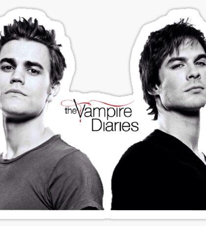 The vampire diaries Salvatore Brothers  Sticker