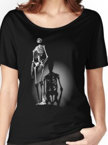 human anatomy t-shirt, human skeleton Women's Relaxed Fit T-Shirt