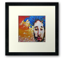 Mike Johnston Heady Convo's with Jimmy EP Album Cover Framed Print