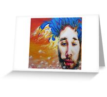 Mike Johnston Heady Convo's with Jimmy EP Album Cover Greeting Card