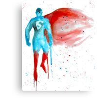 Watercolour hero Canvas Print