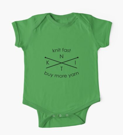 Knit Fast Buy More Yarn One Piece - Short Sleeve