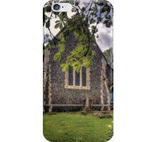 St Peter's Churchyard iPhone Case/Skin