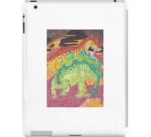 Allosaurus vs Stegosaurus iPad Case/Skin