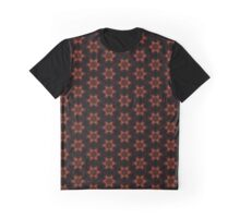 Fire Space Stars Graphic T-Shirt