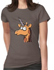 Fred - The Last Girafficorn Womens Fitted T-Shirt