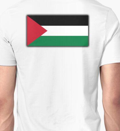Palestine, Palestinian Flag, Flag of Palestine, Gaza, Middle East Unisex T-Shirt