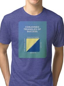 Conjoined Triangles of Success Tri-blend T-Shirt