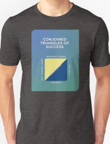 Conjoined Triangles of Success Unisex T-Shirt