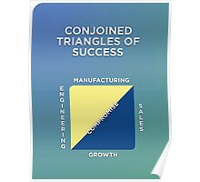 Conjoined Triangles of Success Poster