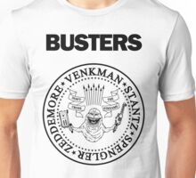 GHOSTBUSTERS / RAMONES White Tee Unisex T-Shirt