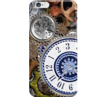 Steampunk clockwork gears accessories and tees iPhone Case/Skin