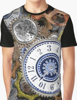 Steampunk clockwork gears accessories and tees Graphic T-Shirt
