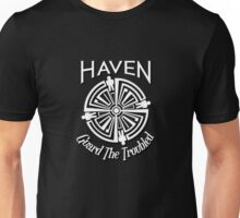 Haven Troubled Tattoo White Logo Unisex T-Shirt
