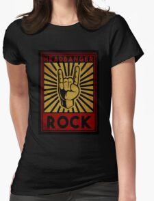 Headbanger  Womens Fitted T-Shirt