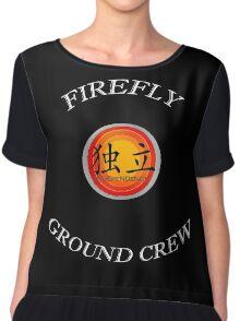 Firefly Ground Crew Chiffon Top