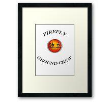 Firefly Ground Crew Framed Print